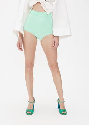Awake Women's Stephanie Short in Mint Size 36 Polyester/Polyurethane