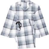 Mens Cyberjammies Check Print Pyjama Set