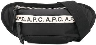 A.P.C. Logo-Tape Belt Bag
