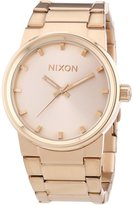 Nixon Men's Cannon A160897 Rose Stainless-Steel Quartz Watch