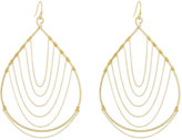 Nakamol Chain-Trimmed Teardrop Earrings