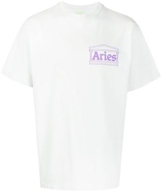 Aries graphic-print crew-neck T-Shirt