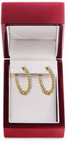 Lord & Taylor 14K Yellow Gold Hoop Earrings