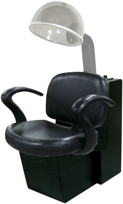 Jeff & Co. Cella Dryer Chair with Belvedere Cut Out