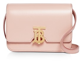 Burberry Mini Leather Tb Bag