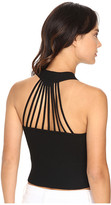 Brigitte Bailey Lovelyn Crop Top with Back Detail