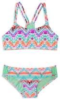 Gossip Girl Girls' Desert Mirage 2-Piece Swimsuit - Big Kid