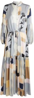 MUNTHE Emmanuel Maxi Dress