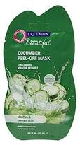 Freeman Feeling Beautiful Facial Peel-Off Mask Cucumber 0.50 oz (Pack of 2)