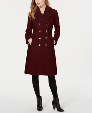 GUESS Double-Breasted Walker Coat