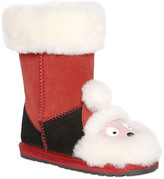 Emu Santa Claus Suede & Wool Boots