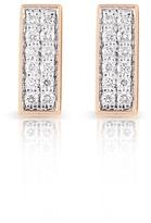 ginette_ny Diamond Baguette Stud Earrings