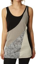 Billabong Women's Patchwork Tank Top-Small