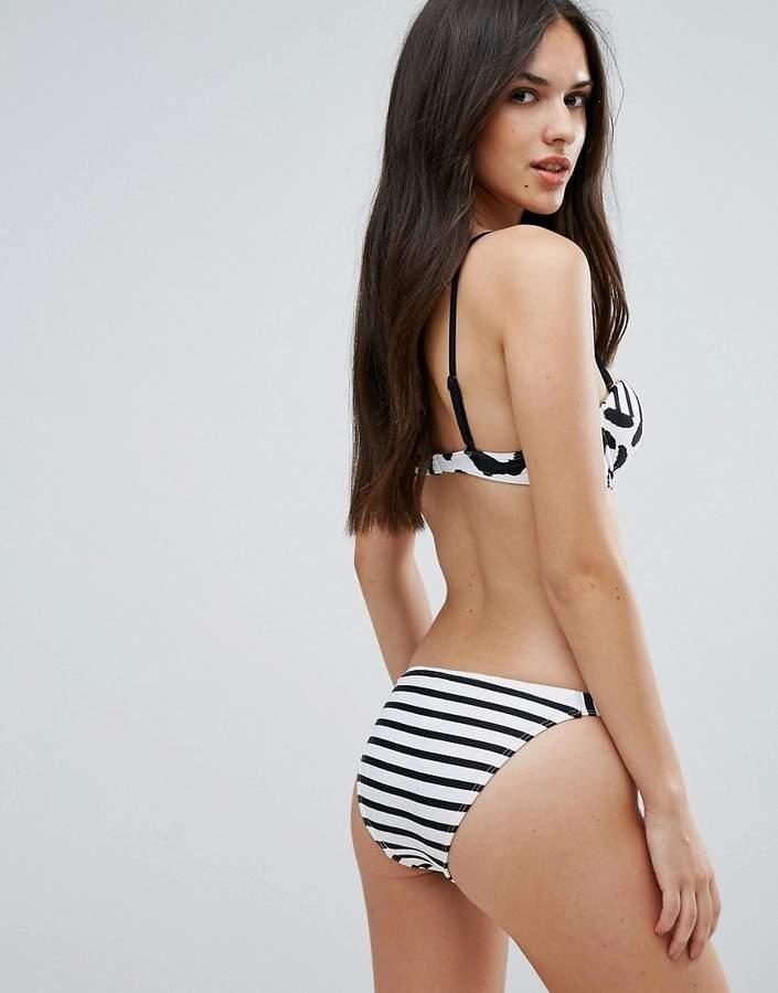 All About Eve Leopard Mix Print Bikini Bottom