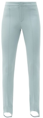 MONCLER GRENOBLE Stirrup Skinny-fit Ski Trousers - Light Blue