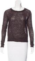 AllSaints Mohair-Blend Long Sleeve Sweater