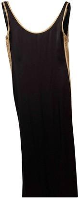 Jean Paul Gaultier Black Silk Dresses