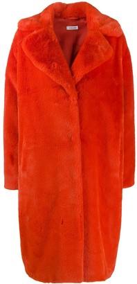 P.A.R.O.S.H. Wide Lapel Midi Coat