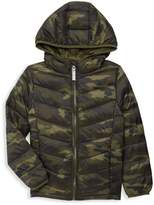 Core Life Little Boy's & Boy's Camouflage Packable Down-Filled Puffer Jacket