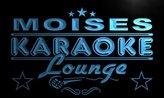 AdvPro Name pk597-b Moises Karaoke Lounge Bar Beer Club Neon Light Sign