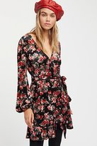 Free People Fall Crush Wrap Dress