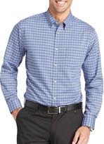 Van Heusen Long-Sleeve Southern Check Woven Shirt