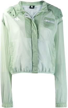 Kappa Kontroll sheer long sleeve jacket