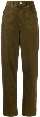 Etoile Isabel Marant high-waisted corduroy trousers
