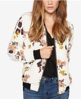 Sanctuary Woodlands Floral-Print Bomber Jacket