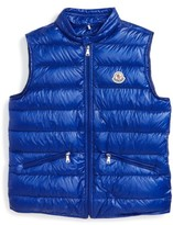Moncler Toddler Gui Water Resistant Quilted Down Vest