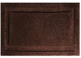 InterDesign Microfiber Spa Bathroom Accent Rug, 34 x 21, Chocolate