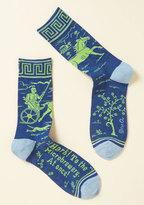ModCloth Hops on for a Ride Men's Socks