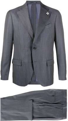 Lardini Striped Slim-Fit Suit
