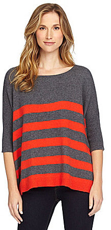 Cremieux Janet Striped Sweater