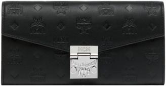 MCM Patricia Crossbody Wallet in Monogram Leather