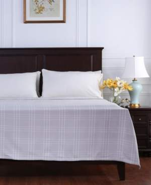 Berkshire Comfy Cotton Check Blanket