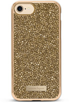 Nanette Lepore iPhone 7 Champagne Crystal Case