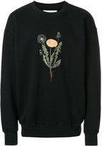 Han Kjobenhavn flower print sweater