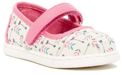 Toms Natural Multi Arrows Mary Jane Sneaker (Toddler & Little Kid)