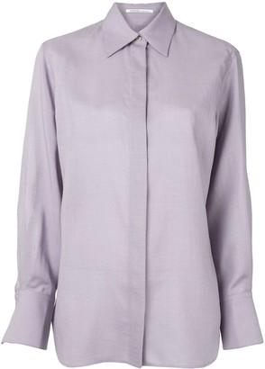 Agnona Long Sleeve Straight Fit Shirt
