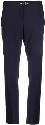 Fay Mid-Rise Tapered-Leg Trousers