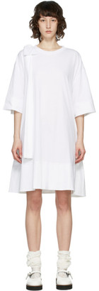 Simone Rocha White Bow Tunic Dress