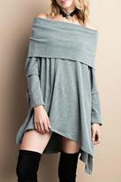 Easel 2tone Oversized Sweater
