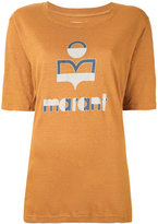 Etoile Isabel Marant logo printed t-shirt - women - Linen/Flax - XS