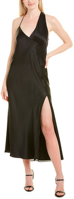 Mason by Michelle Mason Gathered Silk Slip Dress