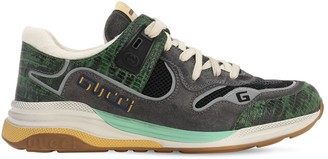 Gucci Ultrapace Mesh & Leather Sneakers