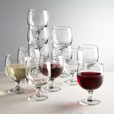 Crate & Barrel Eddy 11 oz. Everyday Stacking Glasses, Set of 12
