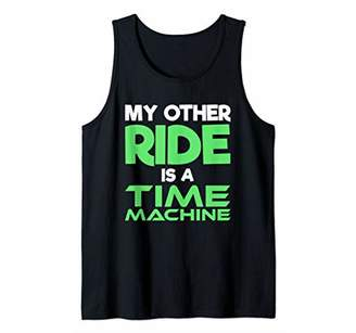 Sci Fi My Other Ride Is A Time Machine Tank Top
