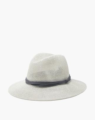 Madewell WYETH Sedona Packable Panama Hat