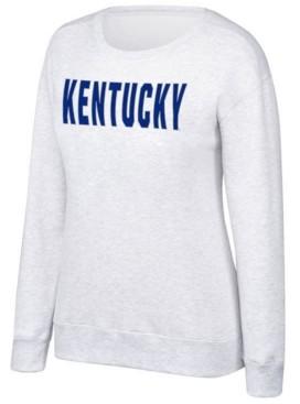 Top of the World Women's Kentucky Wildcats Essential Fleece Crew Sweatshirt